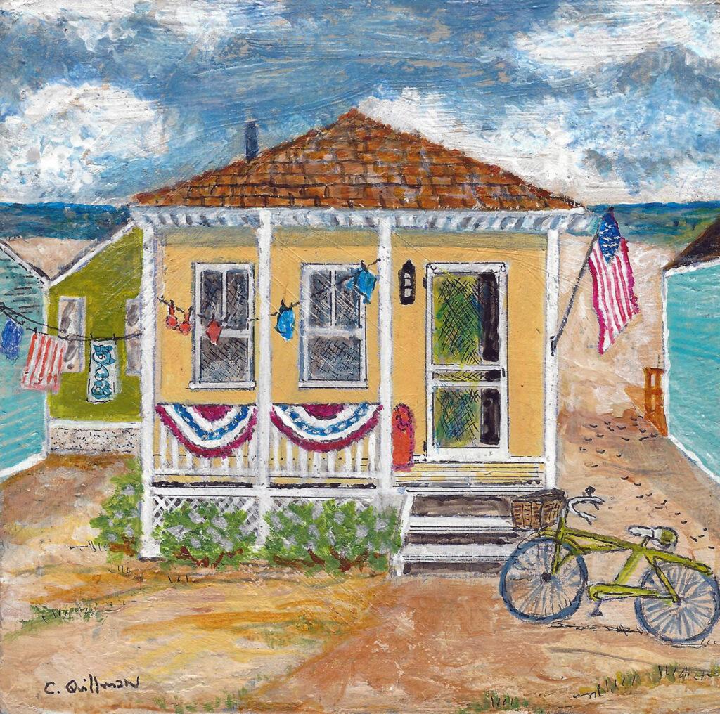 """Seashore Heaven"" Original painting on panel"
