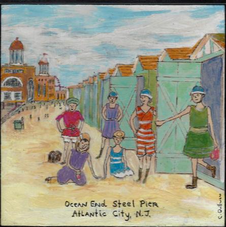 Steel Pier Print $35